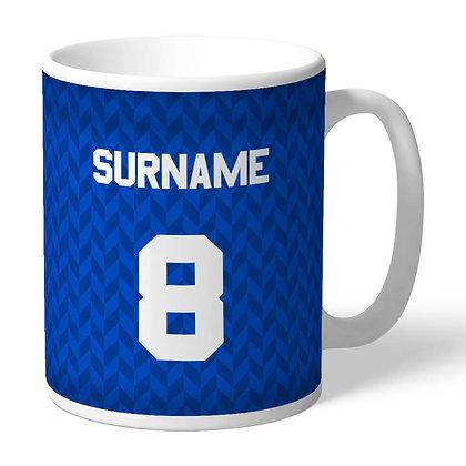 Leicester City FC Retro 87 Kit Mug