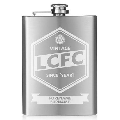 Leicester City FC Vintage Hip Flask