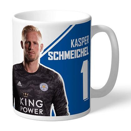 Leicester City FC Schmeichel Autograph Mug