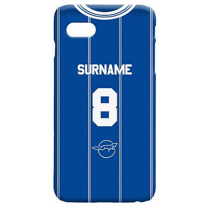 Leicester FC Retro 83 Kit Hard Back Phone Case