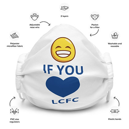 SMILE LCFC Face mask