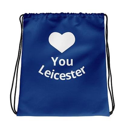 LCFCFamily Drawstring bag - Blue Love You