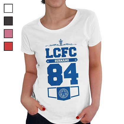 Leicester City FC Ladies Club T-Shirt