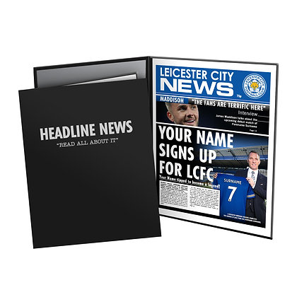 Leicester City FC News Folder