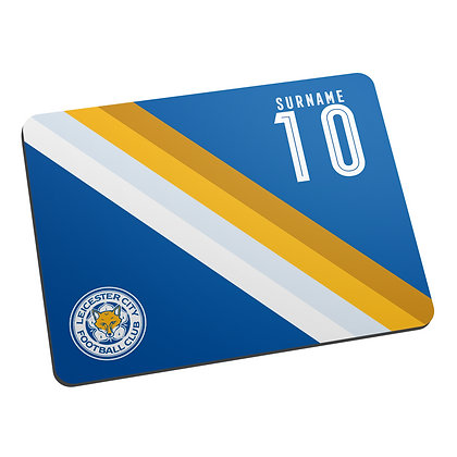 Leicester City FC Stripe Mouse Mat