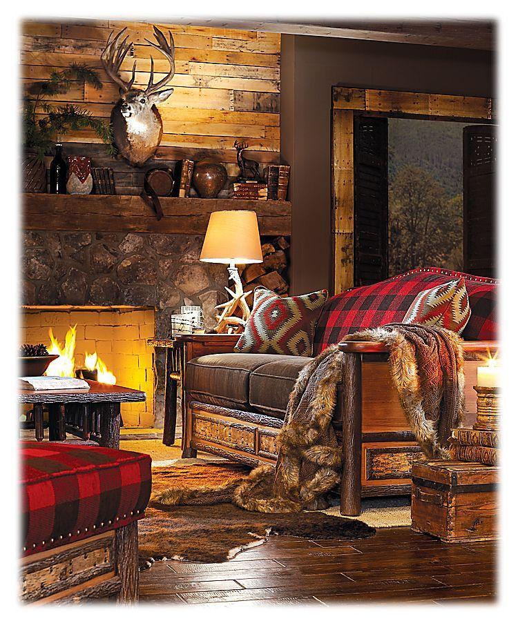 Woodland Living Room Decor