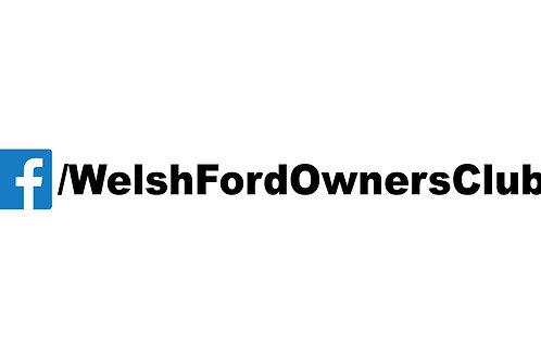 Welsh Ford Facebook Sticker
