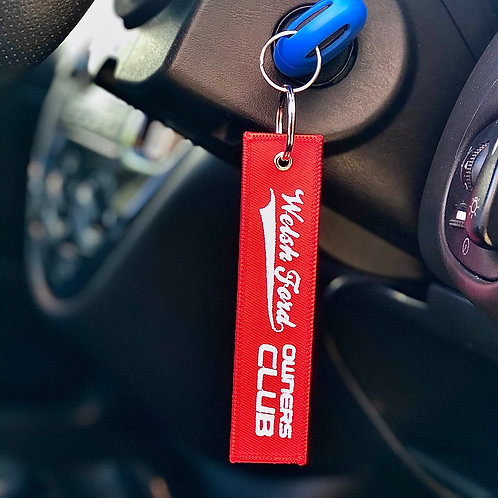 Welsh Ford Flight Tag - Red