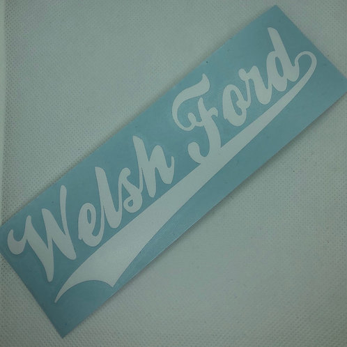 Welsh Ford - (Multiple Colours)