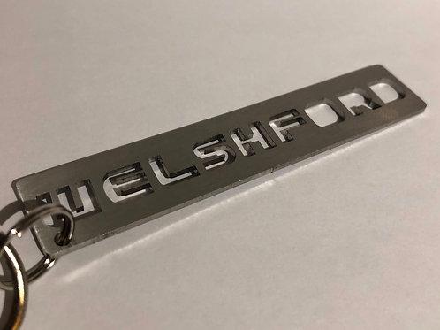 Welsh Ford Metal Keyring