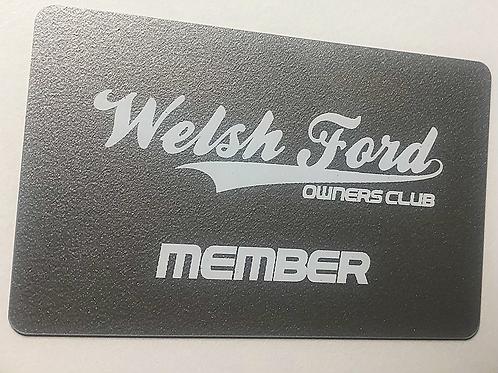 Membership Card Replacement
