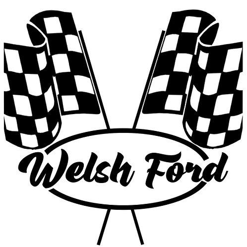 Welsh Ford Racer Sticker