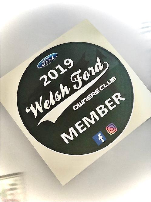 Membership sticker - 2019
