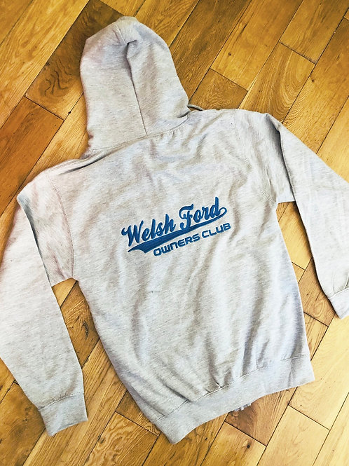 Welsh Ford Zip Up Hoody