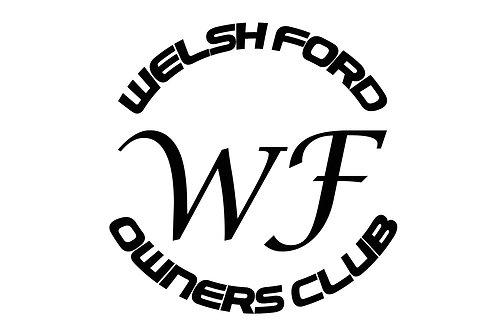 Welsh Ford Crest Sticker