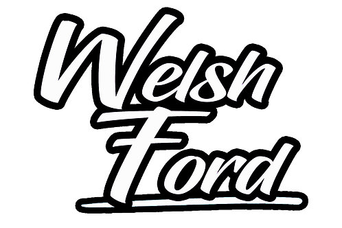 Welsh Ford Retro Sticker