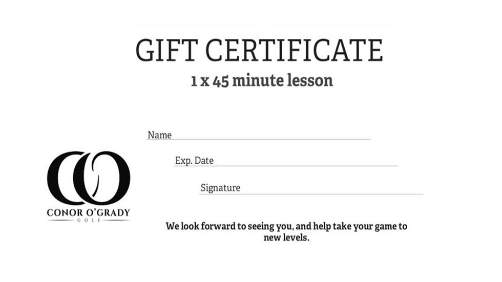 45 MINUTE LESSON