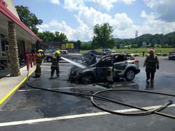Ace Car Fire