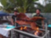 kambing golek bbq grill
