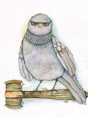 Limited Edition Size Ruth Bader Ginsbird Post Card