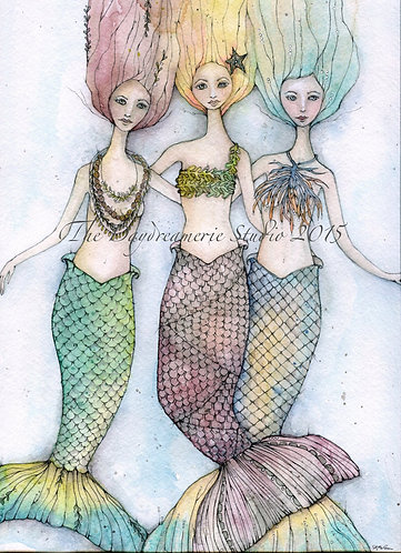 Sirens Postcard