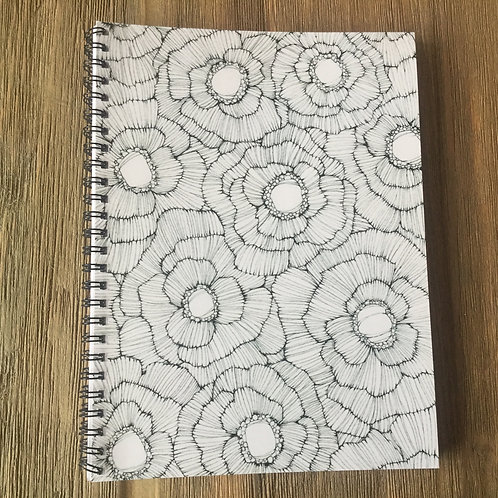 Complicated Spiral Bound Midi-Notebook