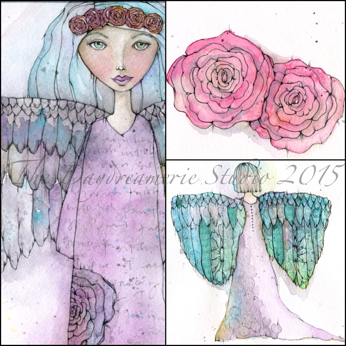 Rose Halo Angel