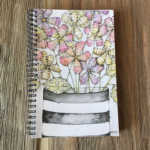 Dr. Seuss's Garden Spiral Bound Midi-Notebook/Journal