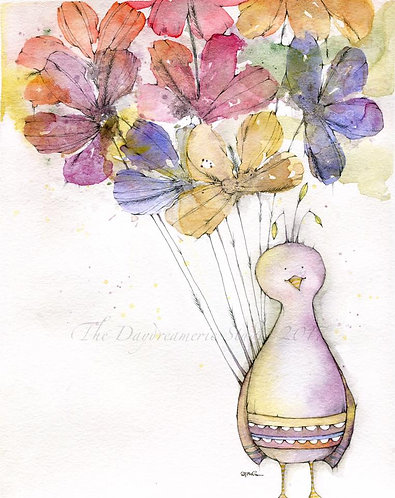 Shake Your Tail Feathers'Til You Bloom