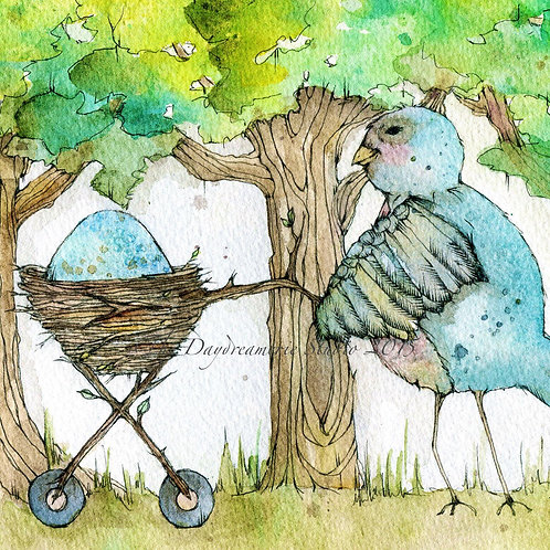 Nesting Post Card