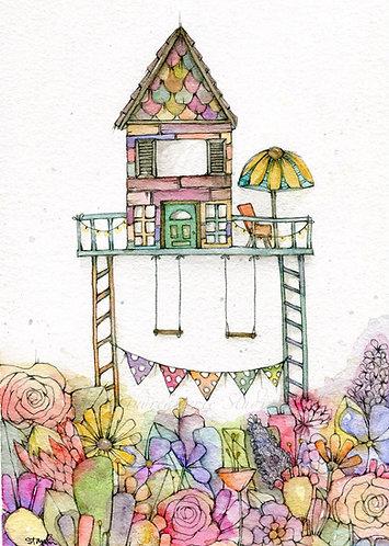 Subtle Garden Home