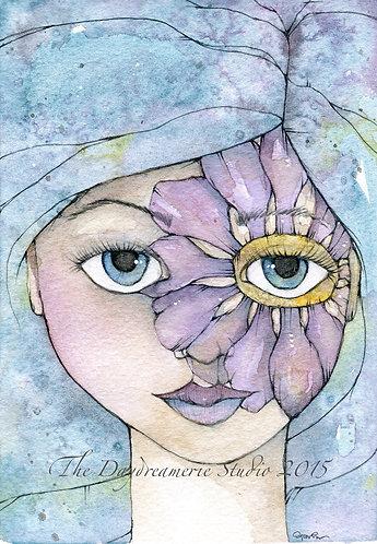 Nixie's Fairy Birthmark Postcard