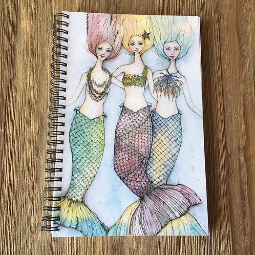Sirens Spiral Bound Midi-Notebook/Journal