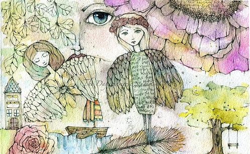 Daydreamerie Doodles Postcard