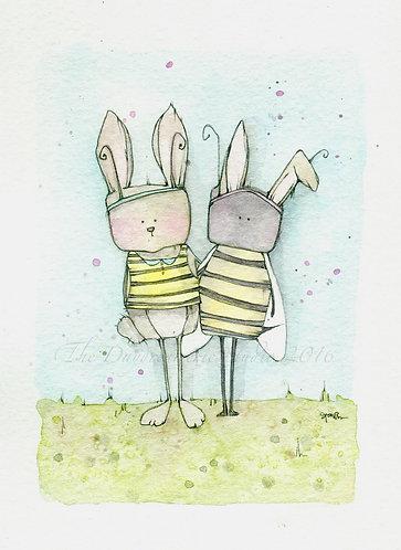 Hunny Bunny Post Card
