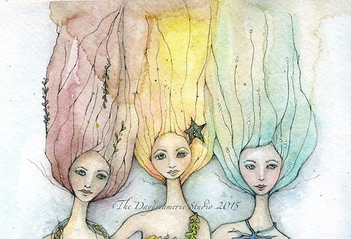 Sirens-Headshot Postcard