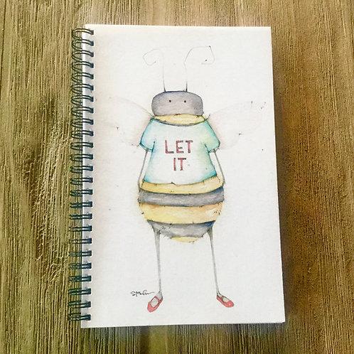 Words of Wisdom Spiral Bound Midi-Notebook/Journal