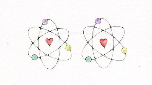 All of my atoms love all of your atoms.  It's Chemistry Post Card