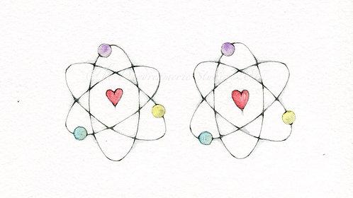 Chemistry Greeting Card