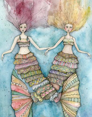 Boho Mer-Sisters