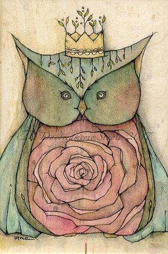 Rose Princess Post Card