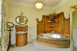 Period bathroom at The Old Rectory