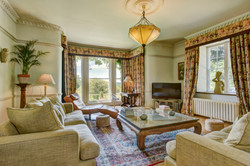 Relaxing lounge area at The Old Rectory Chulmleigh