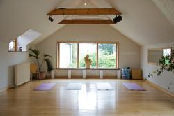 Chulmleigh yoga studio with large windows