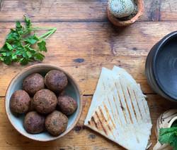 Vegan meal prepared by Wild & Free Adventures chef Tanya