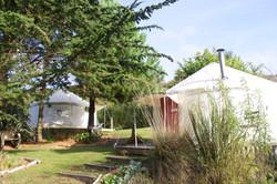 Accommodation yurts Cornwall