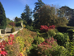 Beautiful gardens at The Old Rectory