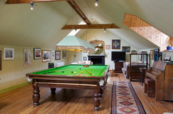 Games room at The Old Rectory