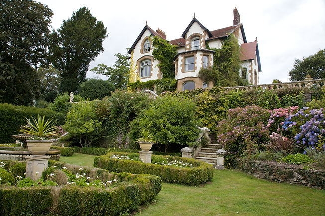 Beautiful gardens at The Old Rectory Chulmleigh