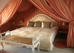 Stunning double bedroom at The Old Rectory